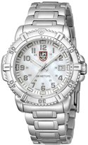Luminox Women's Steel Colormark 7258 Silver Stainless-Steel Quartz Watch with Dial