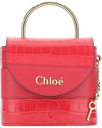 Chloé Aby Lock Small Crossbody Bag