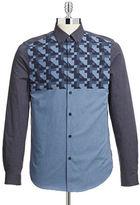 Ben Sherman Modern Geometric Print Shirt
