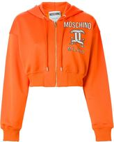 Moschino interlocking C-clamp hooded sweatshirt - women - Cotton/Polyester - L