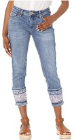Jag Jeans Petite Petite Carter Girlfriend Jeans w/ Layered Hem (Mid Vintage) Women's Jeans