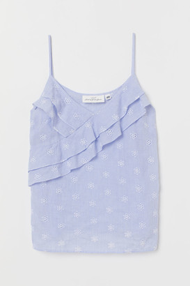 H&M Strappy top with flounces