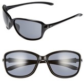 Oakley Women's Cohort 62Mm Sunglasses - Metallic Black/ Grey