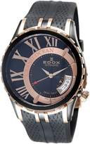 Edox Men's 82007 357RN NIR Automatic Date Grand Ocean Watch