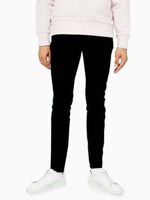 Topman Morgan Skinny Jeans - Black