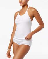 Betsey Johnson Bridal Lace T-Back Pajama Tank Top