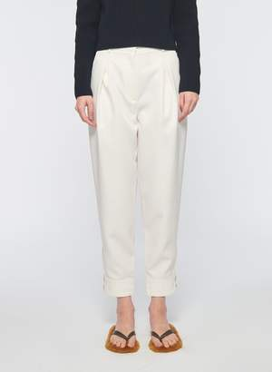 Tibi Recycled Techy Twill Pleated Pant