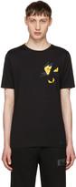 Fendi Black Butterfleyes T-Shirt