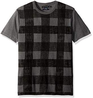 French Connection Men's Texas Check T Shirt
