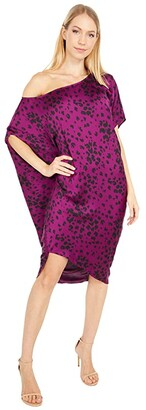 Trina Turk Radiant Dress (Berry In Love) Women's Clothing
