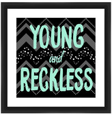 "PTM Images Young & Reckless Framed Giclee Art - 18""x18\"""