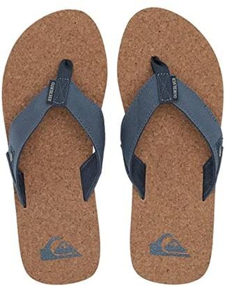 Quiksilver Molokai Abyss Cork (Blue/Brown/Blue) Men's Sandals
