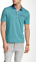 Original Penguin Short Sleeve Solid Chambray Polo