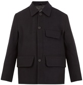 Acne Studios Melbin detachable-lining wool coat