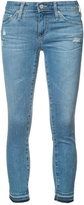 AG Jeans cropped skinny jeans - women - Cotton/Polyurethane - 25