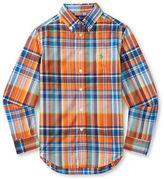 Ralph Lauren Boys 8-20 Plaid Cotton Shirt