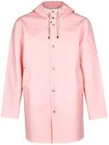 Stutterheim Stockholm Light Pink Rubberised Raincoat