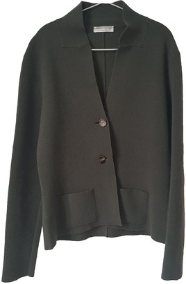 Roberto Collina Green Wool Jacket for Women