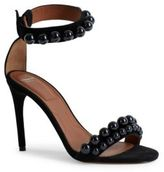 Givenchy Classic Line Leather Cocktail Sandals