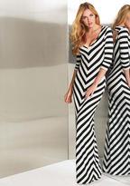 Blu Heaven Teresa Stripe Maxi Dress