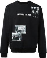 Les (Art)ists photo print sweatshirt