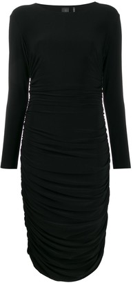 Norma Kamali ruched dress
