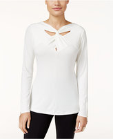 Thalia Sodi Twist-Neck Top, Only at Macy's
