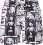 MC2 Saint Barth Marilyn Monroe printed swim shorts - men - Polyester - M