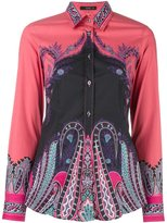 Etro fitted printed shirt