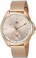 Tommy Hilfiger Women's 'SPORT' Quartz Gold Casual Watch(Model: 1781756)