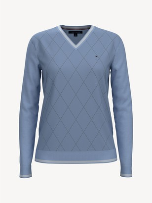 Tommy Hilfiger Essential Argyle Sweater