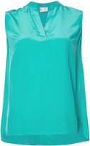 Bogner V-neck sleeveless blouse
