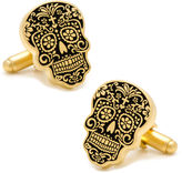 Asstd National Brand Day of the Dead Gold Cufflinks