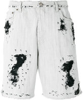 Golden Goose Deluxe Brand distressed denim shorts - men - Cotton - 29