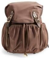 MZ Wallace 'Marlena' Bedford Nylon Backpack - Beige