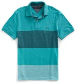 Tommy Hilfiger Final Sale-Cusotm Fit Novelty Stripe Polo