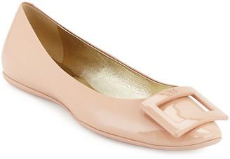 Roger Vivier Gommette Patent Ballerina Flat