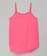 Erge Neon Pink Camisole - Girls