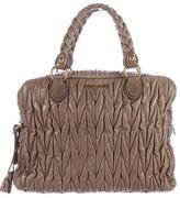 Miu Miu Matelassé Lux Bauletto Bag