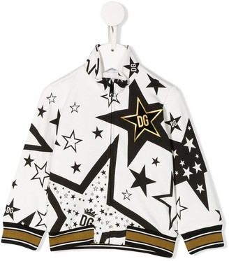 Dolce & Gabbana star-print bomber jacket