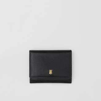 Burberry Grainy Leather ID Card Case