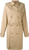A.P.C. trench coat - women - Cotton - M