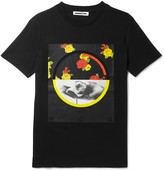 McQ by Alexander McQueen Printed Cotton-Jersey T-Shirt