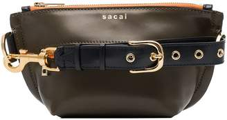 Sacai Trapezoid belt bag