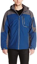 Free Country Men's Waterproof Stretch Mid-Weight Jacket with Fleece Lining