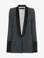 Haider Ackermann polka dot print single breasted blazer
