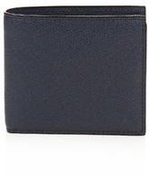 Valextra Bi-fold Leather Wallet