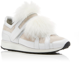 Pierre Hardy Fox Fur Sneakers