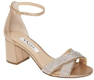 Nina Nolita Crystal Ankle Strap Sandal