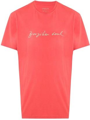 OSKLEN Brazilian Soul print T-shirt